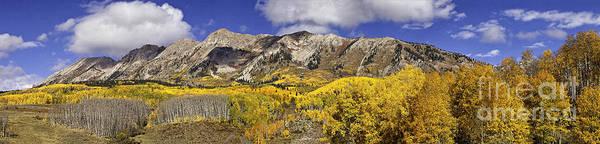 Elk Mountain Panorama Poster