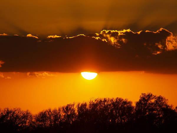 Emergence Of A Golden Sun Poster