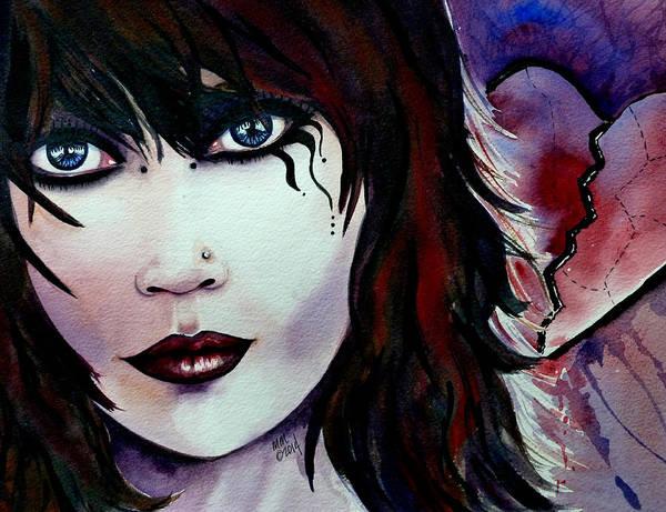 Emo Girl Poster