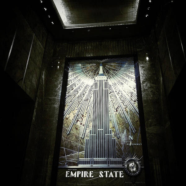 Empire Art Deco Poster