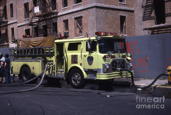 Engine 94 Fdny Lime Poster