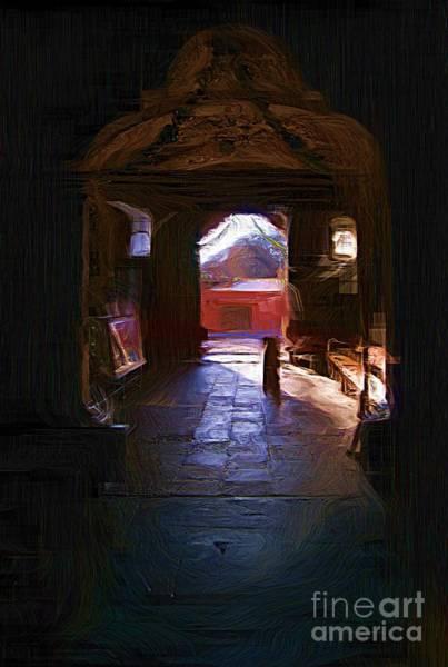 Entrance To The Church Of Atotonilco Poster