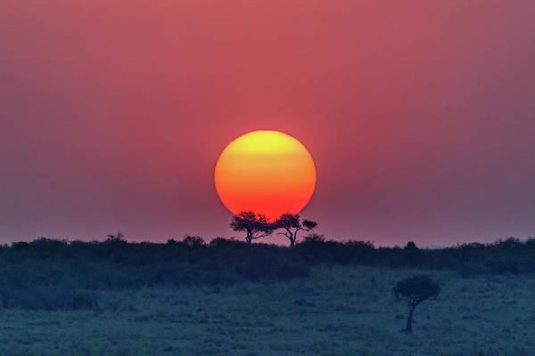 Equatorial Sunset Poster