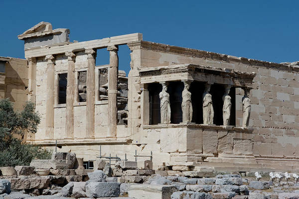 Erechtheion With The Porch Of Maidens Poster