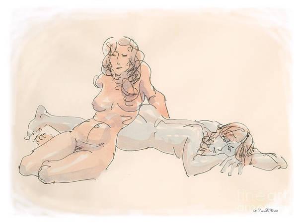 Erotic Drawings 18 Poster