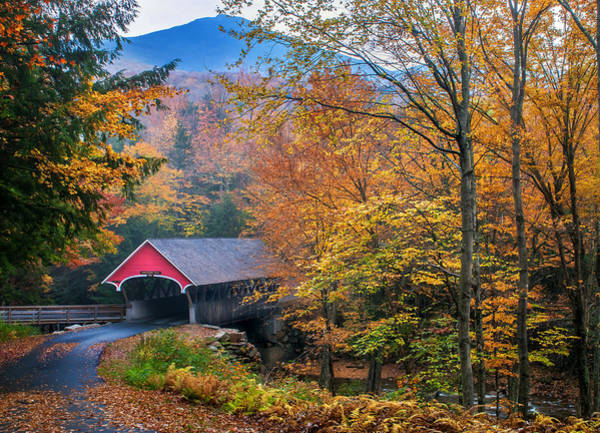 Essence Of New England - New Hampshire Autumn Classic Poster