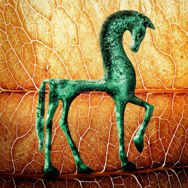 Etruscan Horse Poster