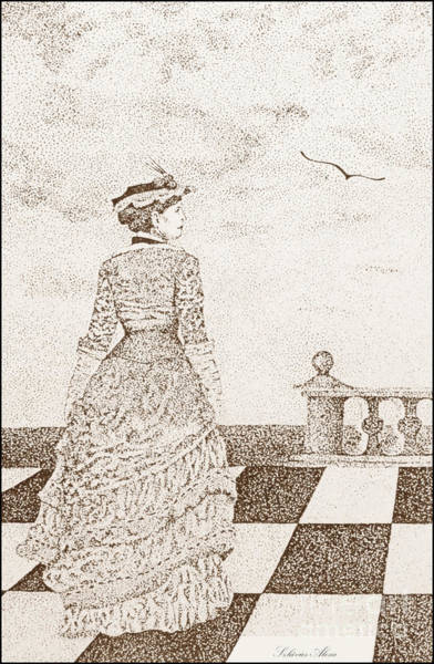 European Lady In The 19 Century Poster