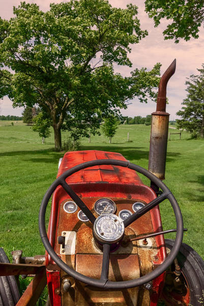Poster featuring the photograph Ever Drive A Tractor by Garvin Hunter