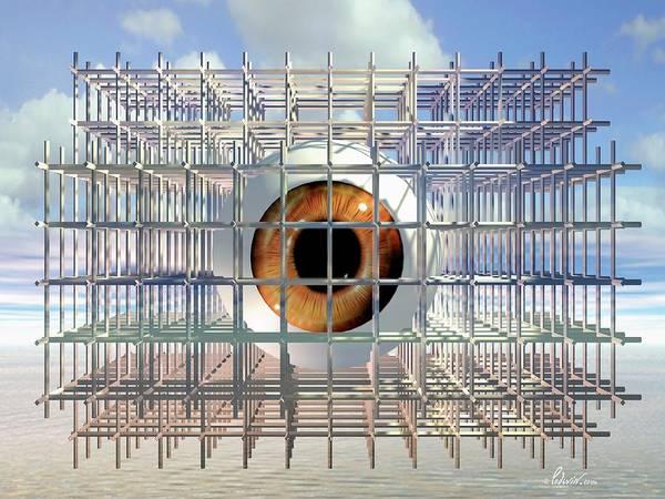 Eyeball Under Construction Poster