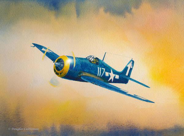 F6f-5 Hellcat Poster