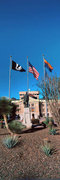 Facade Of The Arizona State Capitol Poster