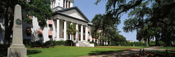 Facade Of The Old Florida State Poster