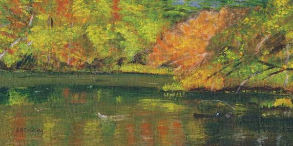 Fall At Dorrs Pond Poster