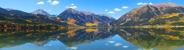 Fall At Twin Lakes Colorado Poster
