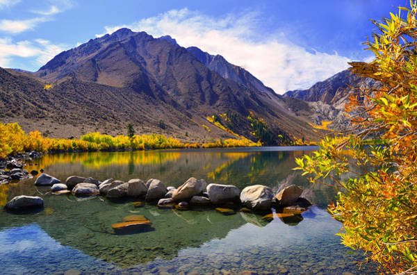 Fall Colors At Convict Lake  Poster