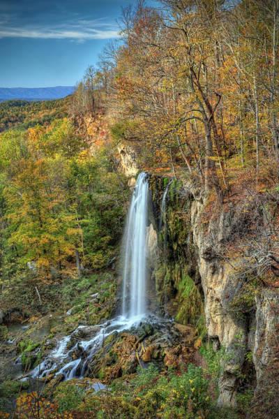 Falling Springs Falls Poster