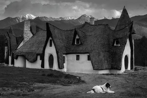 Fantasy Cob Castle From Transylvania Poster