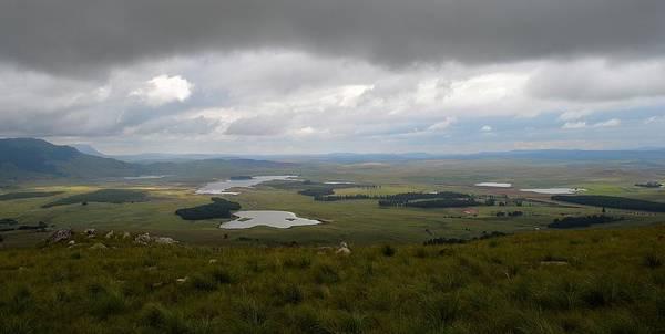 Farms - Drakensberg Range - South Africa Poster