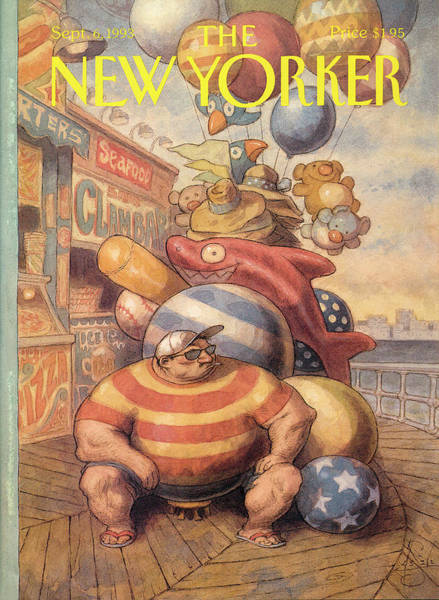 New Yorker September 6th, 1993 Poster