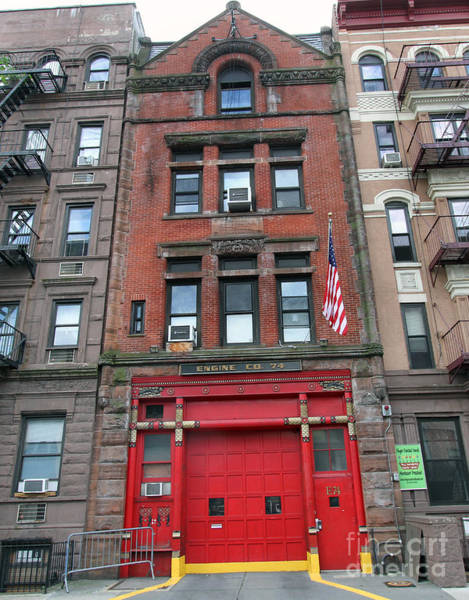 Fdny Engine 74 Firehouse Poster