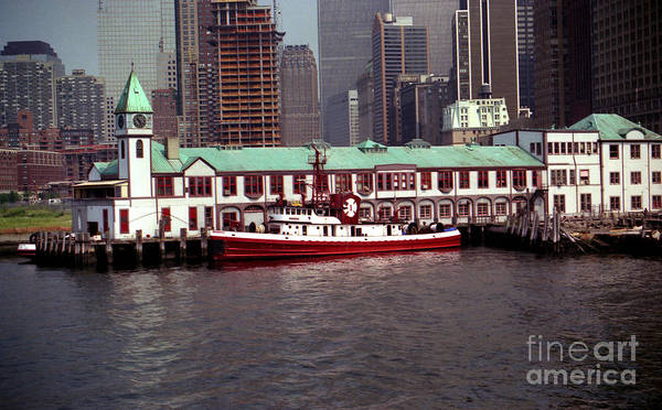 Fdny Pier A Poster