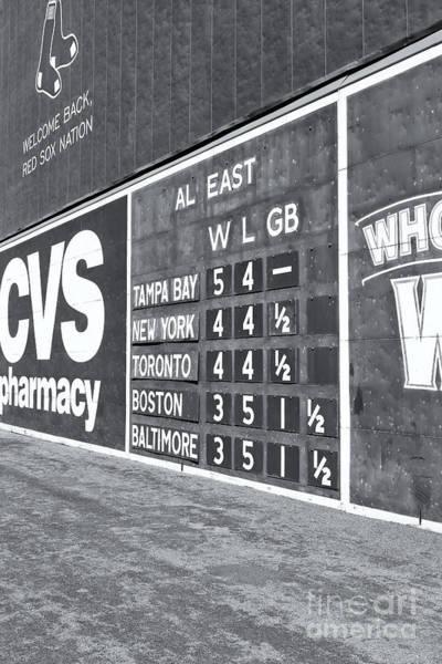 Fenway Park Green Monster Scoreboard II Poster