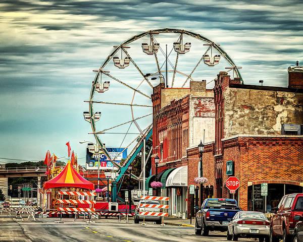 Ferris Wheel In Winona Poster