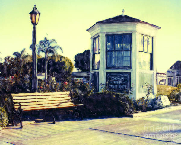 Ferry Landing Afternoon Poster