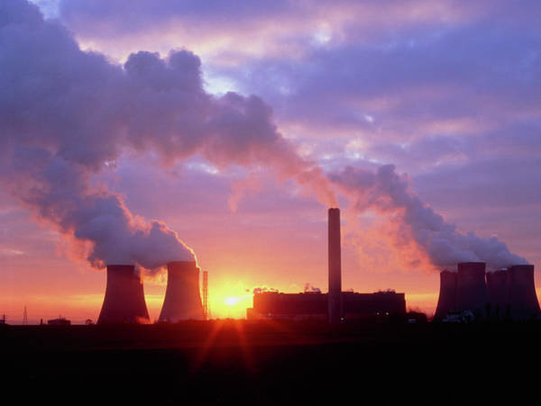 Fiddlers Ferry Coal-fired Power Station Poster