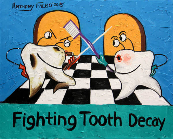 Fighting Tooth Decay Poster
