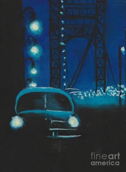 Film Noir In Blue #1 Poster