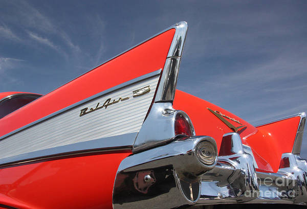 Fintastic '57 Chevy Poster
