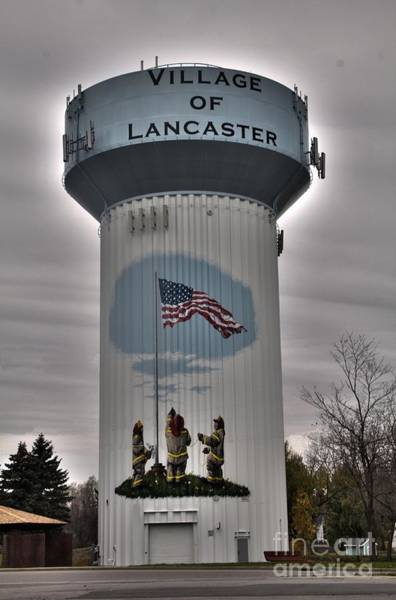 Firefighter's Mural Poster