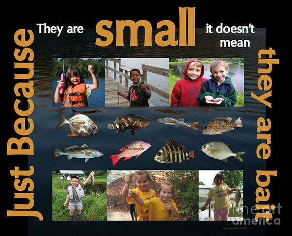 Fishing Bait Poster