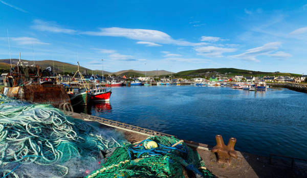 Fishing Harbor, Dingle Harbour, Dingle Poster