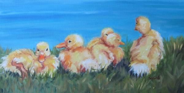 Five Ducklings Poster