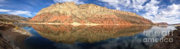 Flaming  Gorge Reflections Poster