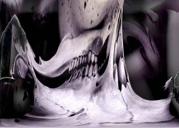Flexify Deer Skull Poster