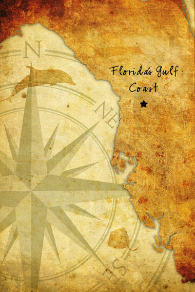 Florida's Gulf Coast Poster