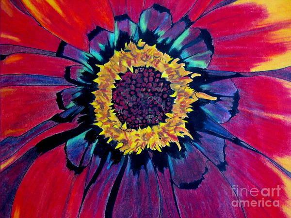 Flowerburst Poster