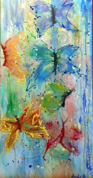Flutter In The Rain Poster