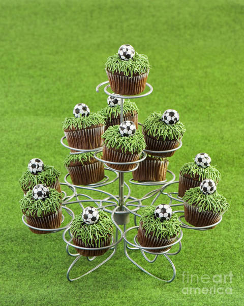 Football Cakes Poster
