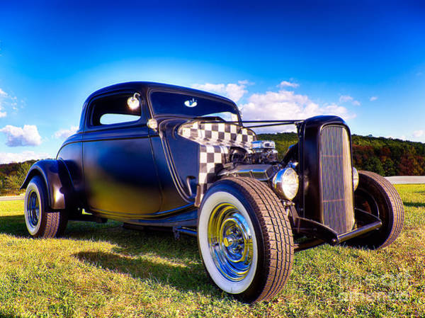Ford Coupe Hot Rod Poster