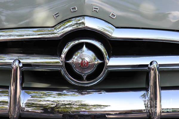 Ford V8 1949 - Vintage Poster