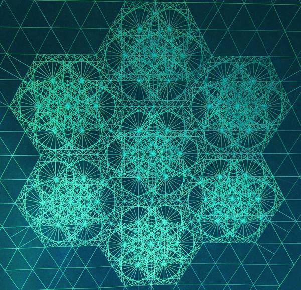 Fractal Interference Poster