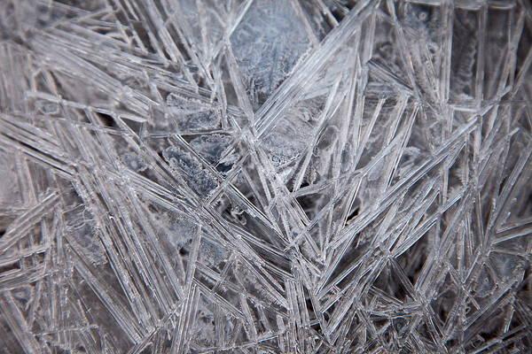 Frozen Fractal Poster