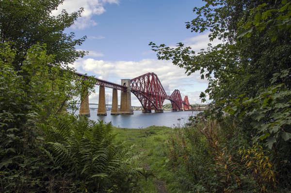 Poster featuring the photograph Framing The Forth Bridge by Ross G Strachan