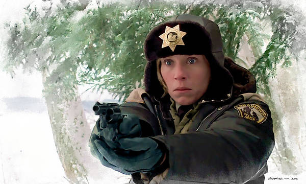 Frances Mcdormand As Marge Gunderson In The Film Fargo By Joel And Ethan Coen Poster