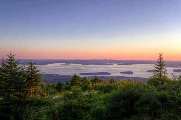 Frenchman's Bay From Cadillac Mountain Poster